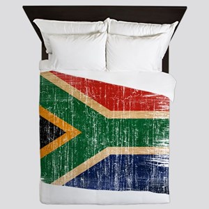 South Africa Flag Queen Duvet