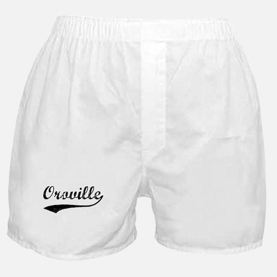 Oroville - Vintage Boxer Shorts