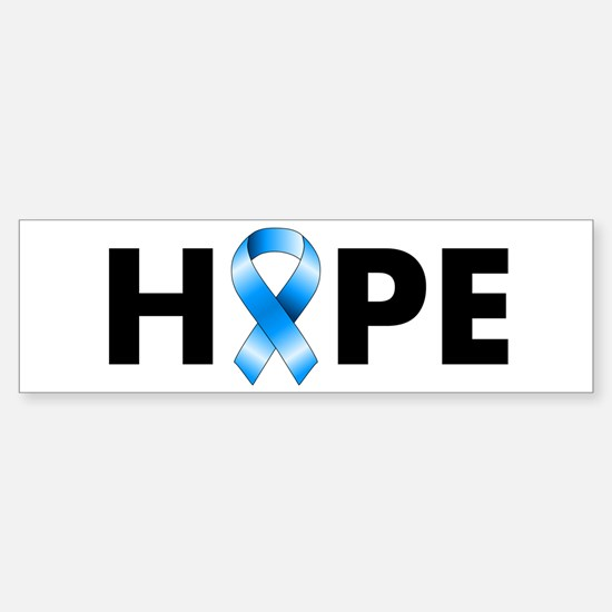Blue Ribbon Hope Sticker (Bumper)