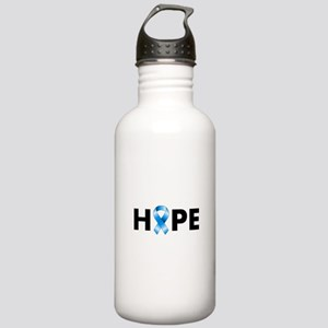 Blue Ribbon Hope Stainless Water Bottle 1.0L