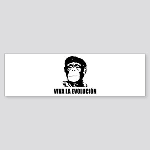 Viva La Evolucion Sticker (Bumper)