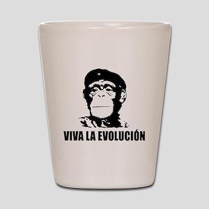 Viva La Evolucion Shot Glass
