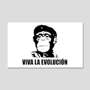 Viva La Evolucion 22x14 Wall Peel
