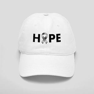 Grey Ribbon Hope Cap