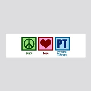 Peace Love PT 20x6 Wall Decal