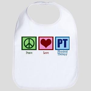 Peace Love PT Bib