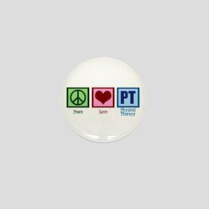 Peace Love PT Mini Button