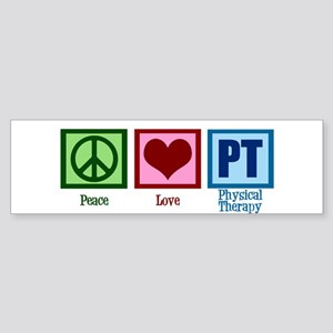 Peace Love PT Sticker (Bumper)
