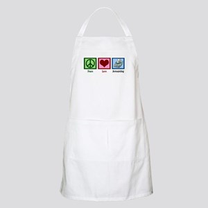 Peace Love Accounting Apron