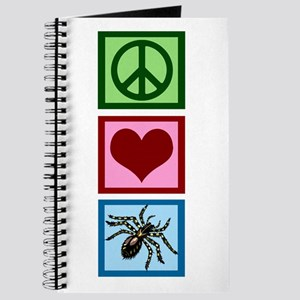 Peace Love Spiders Journal