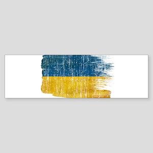 Ukraine Flag Sticker (Bumper)