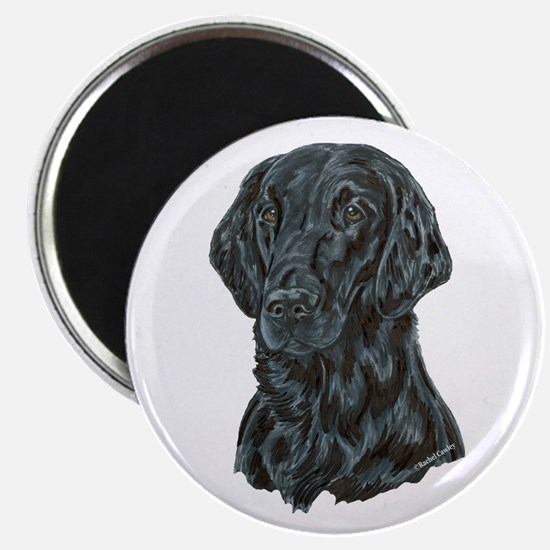 "Flat Coated Retriever 2.25"" Magnet (10 pack)"