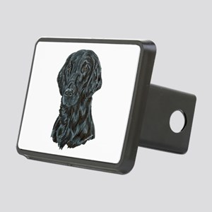 Flat Coated Retriever Rectangular Hitch Cover