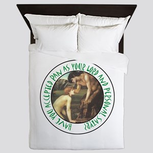 You Personal Satyr Queen Duvet