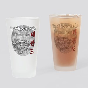 The meaning of TKD Drinking Glass