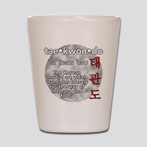 The meaning of TKD Shot Glass