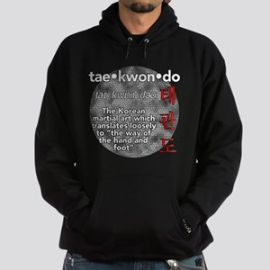 The meaning of TKD Hoodie (dark)