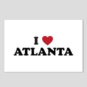 I Love Atlanta Georgia Postcards (Package of 8)