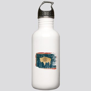 Wyoming Flag Stainless Water Bottle 1.0L