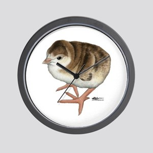 Bourbon Red Poult Wall Clock