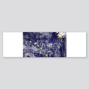Alaska Flag Sticker (Bumper)