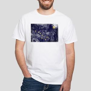 Alaska Flag White T-Shirt