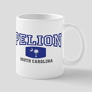 Pelion South Carolina, SC, Palmetto State Flag Mug