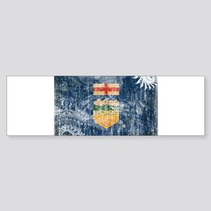 Alberta Flag Sticker (Bumper)
