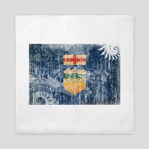 Alberta Flag Queen Duvet