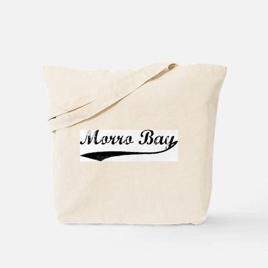 Morro Bay - Vintage Tote Bag