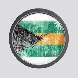 Bahamas Flag Wall Clock