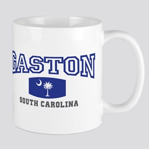 Gaston South Carolina, SC, Palmetto State Flag Mug
