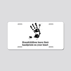handprints Aluminum License Plate