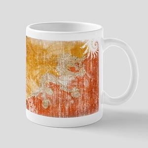 Bhutan Flag Mug
