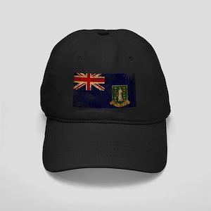 British Virgin Islands Flag Black Cap
