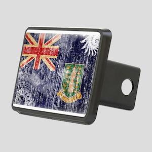 British Virgin Islands Flag Rectangular Hitch Cove