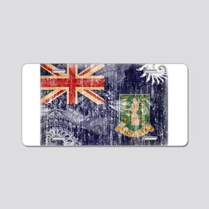 British Virgin Islands Flag Aluminum License Plate