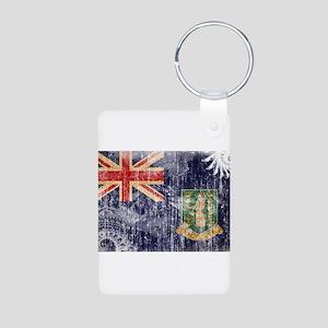 British Virgin Islands Flag Aluminum Photo Keychai