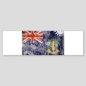 British Virgin Islands Flag Sticker (Bumper)