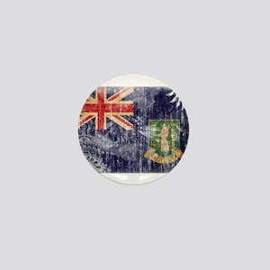 British Virgin Islands Flag Mini Button