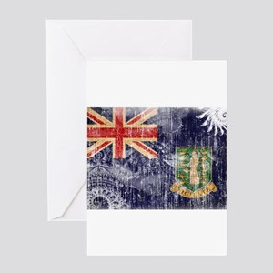 British virgin islands greeting cards cafepress british virgin islands flag greeting card m4hsunfo