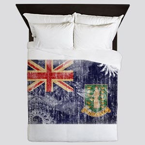 British Virgin Islands Flag Queen Duvet