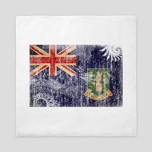 British Virgin Islands Flag Queen Duvet