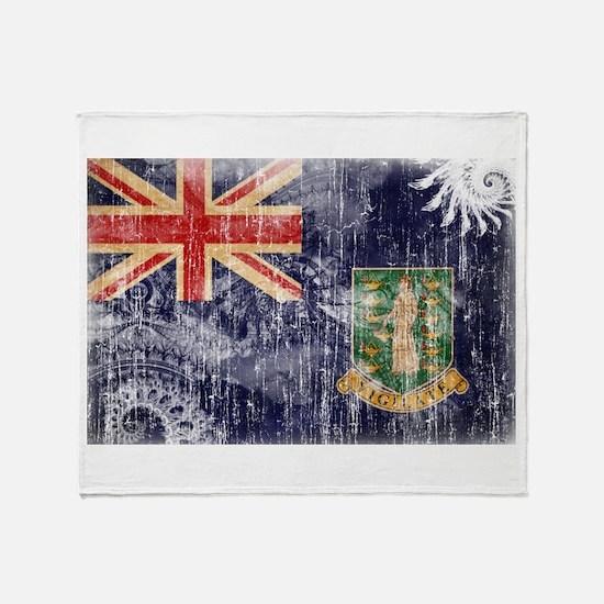 British Virgin Islands Flag Throw Blanket