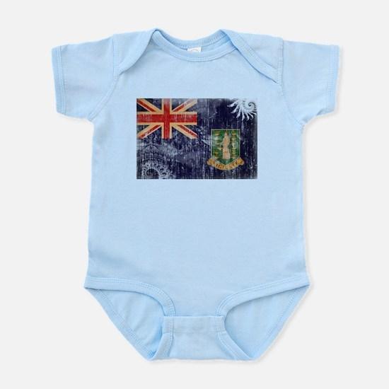 British Virgin Islands Flag Infant Bodysuit