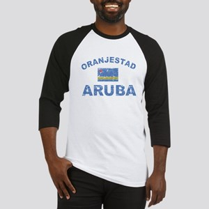 Oranjestad Aruba designs Baseball Jersey