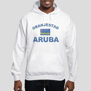 Oranjestad Aruba designs Hooded Sweatshirt