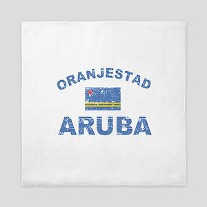 Oranjestad Aruba designs Queen Duvet