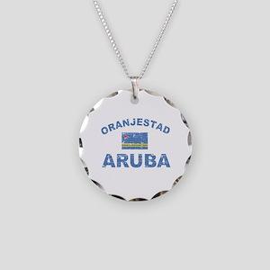 Oranjestad Aruba designs Necklace Circle Charm