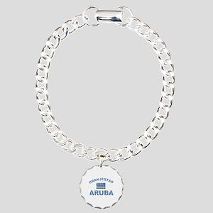Oranjestad Aruba designs Charm Bracelet, One Charm